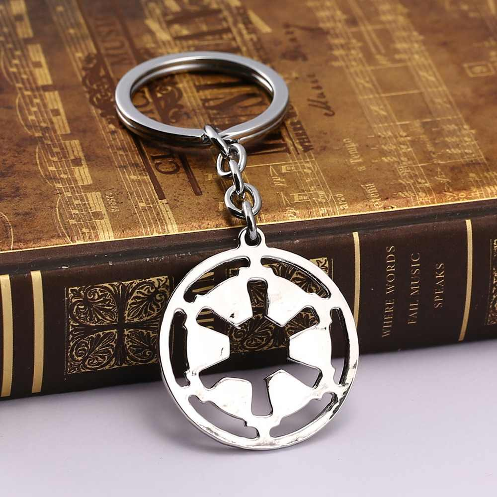 HSIC Star Wars Empire Logo Hanger Sleutelhanger Sieraden Charm Sleutelhanger Sleutelhanger Film Collection HC11339