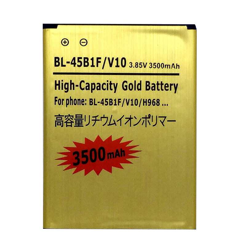 <font><b>V10</b></font> Battery for <font><b>LG</b></font> H961N F600 H900 <font><b>H901</b></font> VS990 H968 Rechargeable li ion Accumulator Batteries on the Phone image