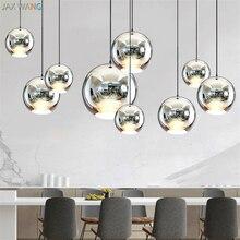 цена Modern fashion pendant lights electroplating bubble Dome pendant lamp hotel living room restaurant aisle hanging light fixtures онлайн в 2017 году