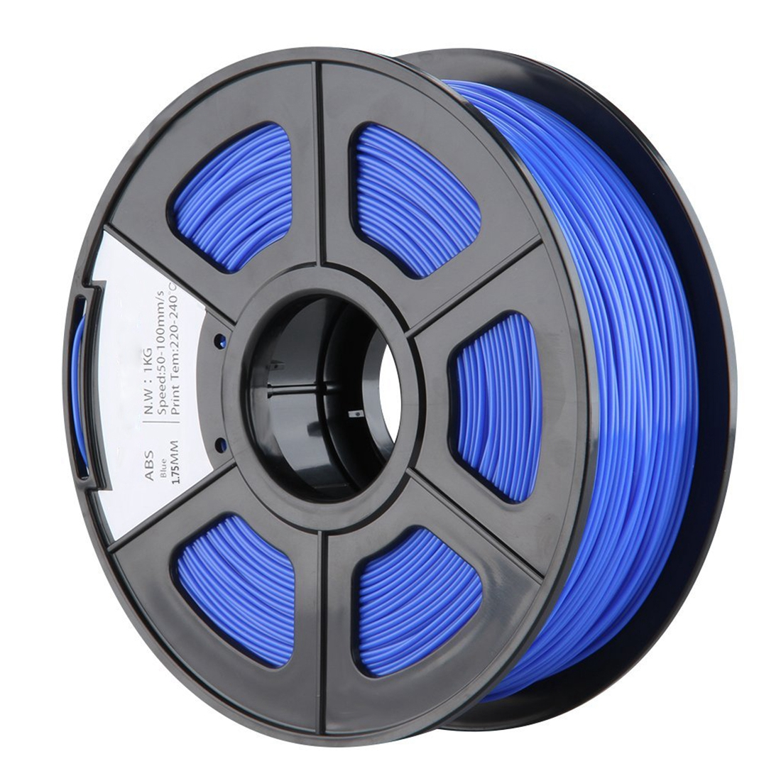 New 1.75mm ABS 3D Printer Filament - 1kg Spool (2.2 lbs) - Dimensional Accuracy +/- 0.02mm - Multi Colors Available (Blue) 1 75mm jade green abs filament high accuracy 3d printer accessories 10m