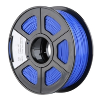 New 1.75mm ABS 3D Printer Filament - 1kg Spool (2.2 lbs) - Dimensional Accuracy +/- 0.02mm - Multi Colors Available (Blue)