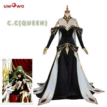 UWOWO CODE GEASS Cosplay Lelouch of the Rebellion C.C. Empress Ver. Costume Anime CODE GEASS Lelouch of the Rebellion Cosplay - DISCOUNT ITEM  30% OFF All Category