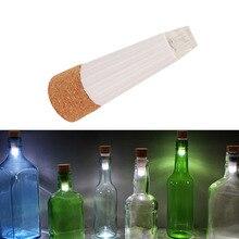 1 piece LED rechargeable shiny bottle cap cork stopper cap l