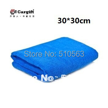 qc005 wholesale 3pcs/lot 30*30cm auto washing thickening ultrafine fiber nano auto supplies cleaning Special car wash towels