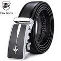 FIRE KIRIN Belt 2017 Fashion Mens Leather Belts Luxury Designers Famous Brand Airplane Logo Automatic Belt Casual Cinturon B43