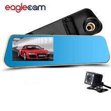 Dual Car Camera Original Car Dvr Review Mirror Digital Video Recorder Auto Navigator Registrator Camcorder  HD 1080P