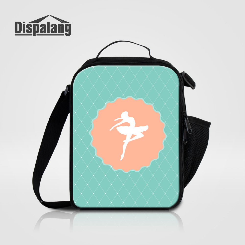 dispalang ballet lunch bags for kids thermal insulated lunch box for children girls food picnic. Black Bedroom Furniture Sets. Home Design Ideas