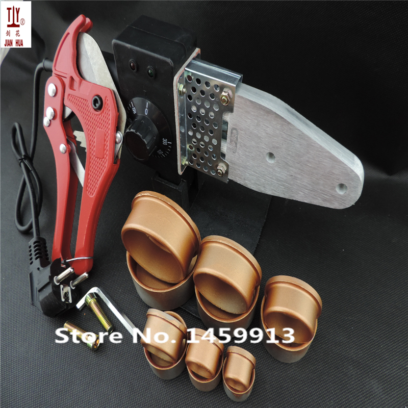Free Shipping Plumber tool With 42mm cutter 220V 800WPlastic Water Pipe Welder, Heating PPR, welding machine for plastic pipes