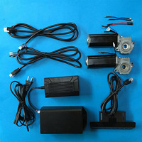 978JL Motor 24V 51W 5N.m 99rpm Brush DC Deceleration Gear Linear Actuator Lift table Motor 2 pcs and Controller and power supply