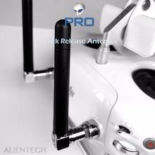 火星 ALIENTECH 2.4 グラム/5.8 グラムデュオ Anteena の無指向性とクイックリリース Dji スパーク/マヴィック /ファントム/インスパイア 4g/M600 ドローン