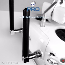Martian ALIENTECH 2.4g/5.8g DUO Anteena una di OMNIDIREZIONALE con Sgancio Rapido Per DJI Spark/Mavic /Phantom/Inspire/M600 Droni