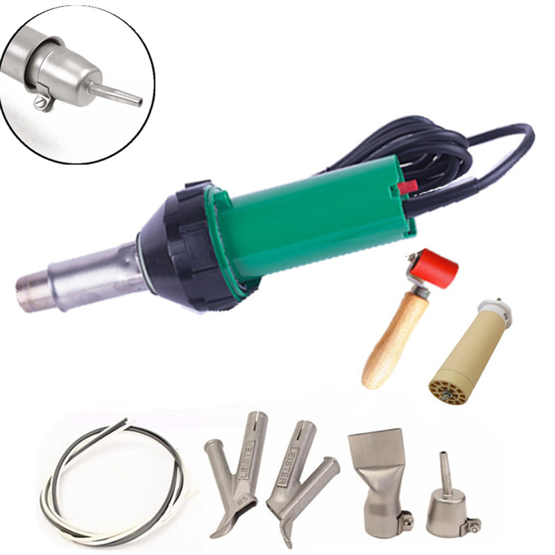 220V Plastic Hot Air Welding Gun/Heat Gun/Vinyl Floor hot air gun +220V Heating element And Accessories Flooring welding tools