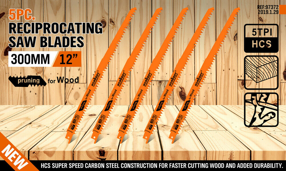 HORUSDY Reciprocating Saw Blades 12