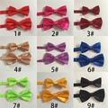 10 Цветов Новый Взрослый мужской Gravata Bowties дети бабочкой Мальчик Бабочка Bowties Набор Настроить Лук Партия Одежды Аксессуар CRET001