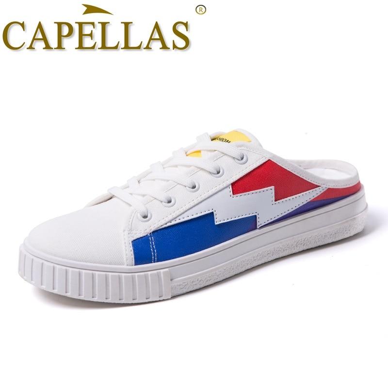 CAPELLAS Neue Ankunft Leinwand Schuhe Männer Freizeitschuhe Bequeme - Herrenschuhe - Foto 3