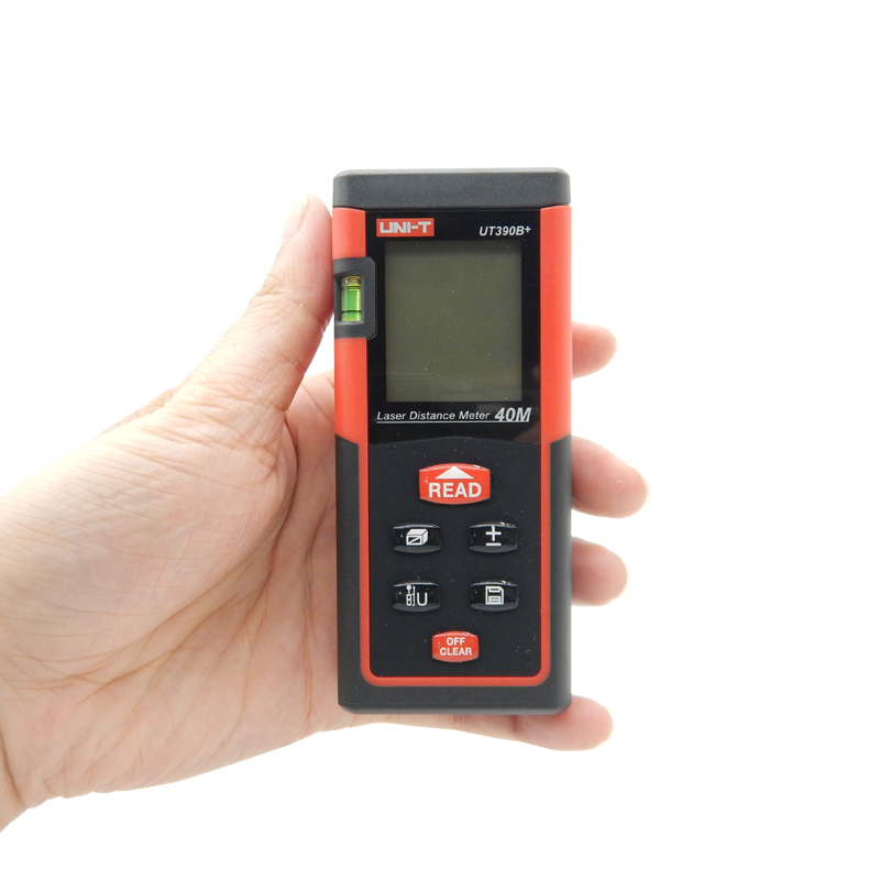 ФОТО UNI-T Digital Laser Distance Meter UT390B+ Bubble Level Rangefinder Range Finder Tape Measure Area/Volume Laser Tape Measure