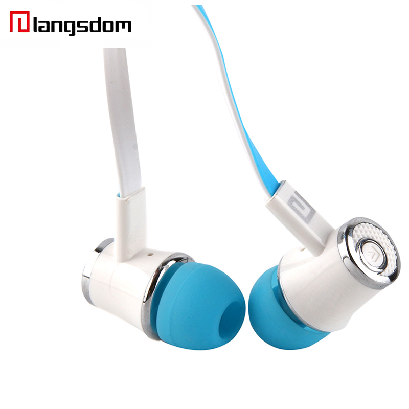 10 pcs Langsdom JM21 Earphone Super Bass Stereo HIFI Earbuds With Microphone 3.5mm Wired In-ear Earphone For Samsung iPhone HTC original senfer dt2 ie800 dynamic with 2ba hybrid drive in ear earphone ceramic hifi earphone earbuds with mmcx interface