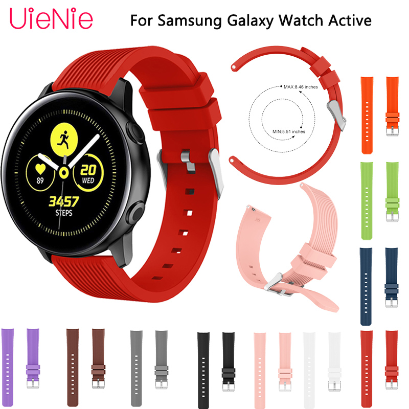 20mm replace bracelet For Samsung Galaxy Watch Active watchbands for 42mm strap Gear S2 wristband