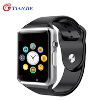 Smartwatch A1Bluetooth Health Mp3 Waterproof Pedometer Wearable Device With SIM Card Mobile GSM Android Smart Watch