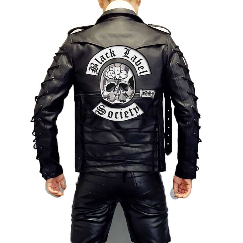 34 Black Label Leather Jacket Labels Database 2020