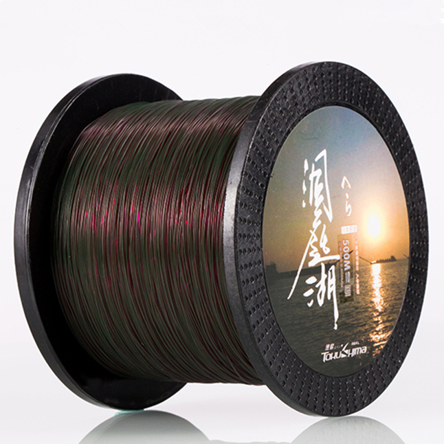 Image 4 - 500M Best Quality Mono filament Nylon Fishing Line Saltwater/Freshwater Monofilament Material Winter Super Durable Fish Line-in Fishing Lines from Sports & Entertainment