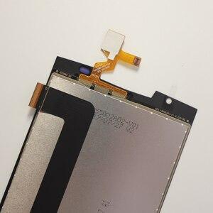 Image 5 - 5.5 Oukitel K10000 Pro LCD ekran + dokunmatik ekranlı sayısallaştırıcı grup 100% orijinal test LCD ekran cam Panel K10000 Pro