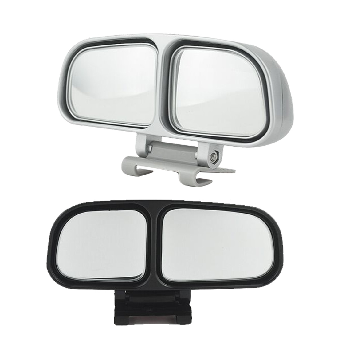 Dewtreetali auto wide angle rear mirrors side rearview car universal blind spot square mirror of 2