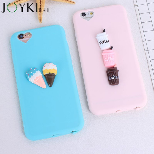 newest dd1f3 9d46b Aliexpress.com : Buy 3D Coffee Squishy Phone Cases for iphone 5 5S SE 6 7  Plus Case Soft Silicon Cases For iphone 7 6 6s Plus 7Plus Case Coque from  ...