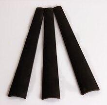 1 stück Ausgezeichnete undyed schwarz violine indonesien ebenholz griffbrett 4/4 Violine Teile & Zubehör