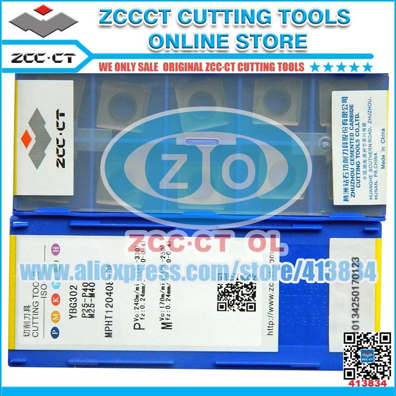 Free Shipping 50pcs/lot MPHT120408-DM YBG302 MPHT120408 MPHT1204 MPHT12 ZCC inserts MPHT 120408-DM ZCCCT milling insert cutter one box zcc ybg302  xseq1202   10pcs