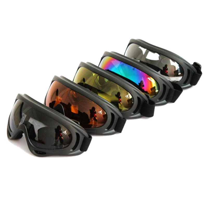 New Outdoor Adult Snowboard Riding Glasses 5 Colors Ski Goggles UV400 Windproof Goggles Bicycle Outdoor Glasses Th