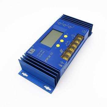 60A 12V/24V PWM LB Brand Solar Panel Charge Controller Regulator LCD Display Lithium iron battery Li Li-ion