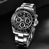 2020 neue PAGANI DESIGN Marke Chronograph Sport Uhren Herren Luxus Marke Quarz Wasserdichte Rolexable Uhr Relogio Masculino