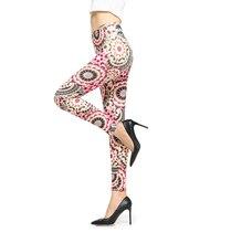 Retro Vintage Floral Printed leggings Women Fashion Sexy Leggins Slim High Waist Leggings Woman Pants
