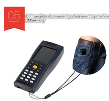 Inventory machine data acquisition wireless scanner courier dedicated gun sweep code handheld terminals
