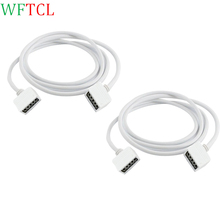 Buy wire rope connectors and get free shipping on aliexpress 2pack 1m extension cable cord 5 pin flex ribbon rope connector wire for 5050 rgbw led aloadofball Gallery