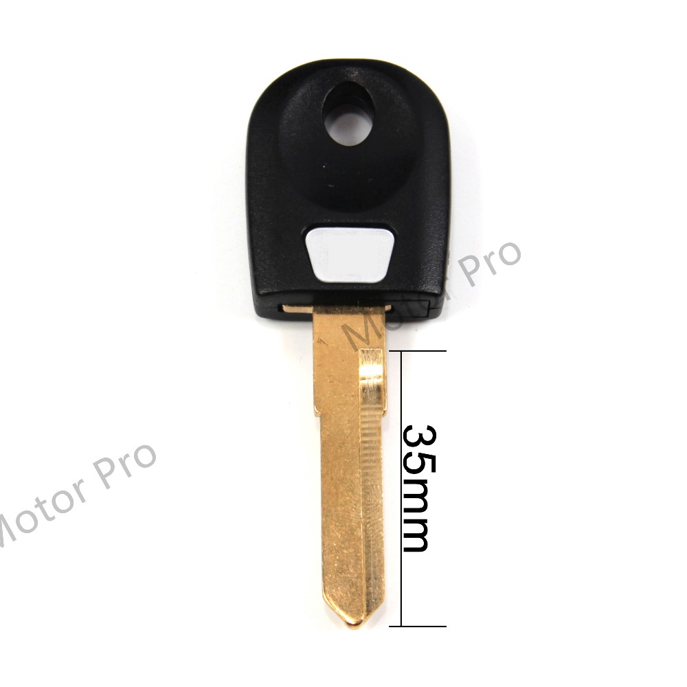 Uncut Blade Blank Key For Ducati 800 Sport 900 Monster Monster S2R S4 S4R ST3 Motorcycle Replacement Accessories With Logo BLACK