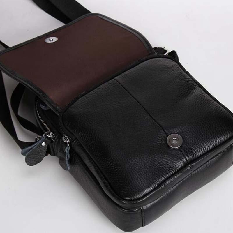 o homem 2017 preço em Cowhide Leather Bag Tipo de Ítem : Shoulder & Crossbody Bags& Hangbag