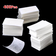 400pcs Cotton Soft Nail Polish Arcylic UV Gel Remover Removal Wipes Pads