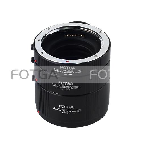 FOTGA Macro Automatic Extension Tube Set DG for CANON EF EFS Lens 13mm 20mm 36mm kwen cn sj1 macro extension tube set for canon black