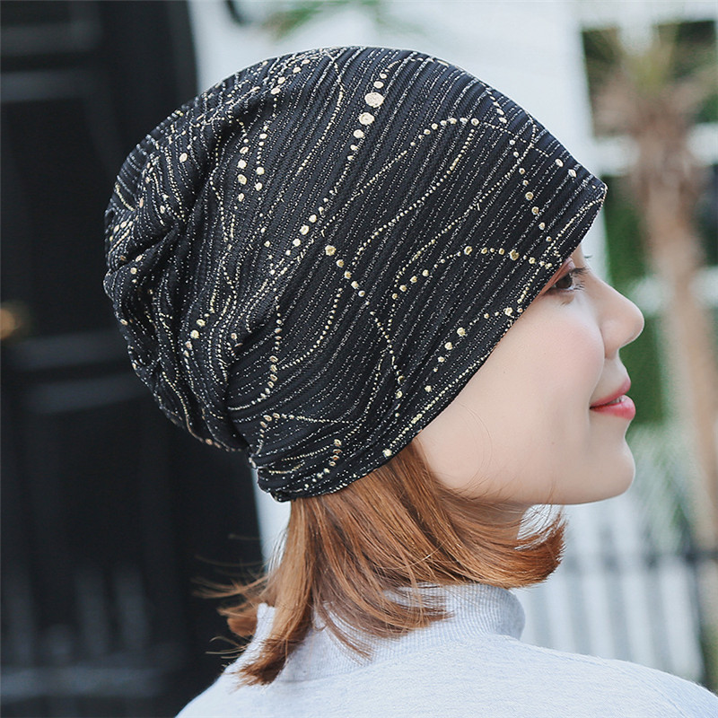 clearance prices official shop cheap for discount Summer Beanies For Women Muslim Turban Hat Ladies Spring Summer Cap Fashion  Bronzing Headwrap Hats Casual Skullies Beanies Caps Cool Beanies Beanie ...