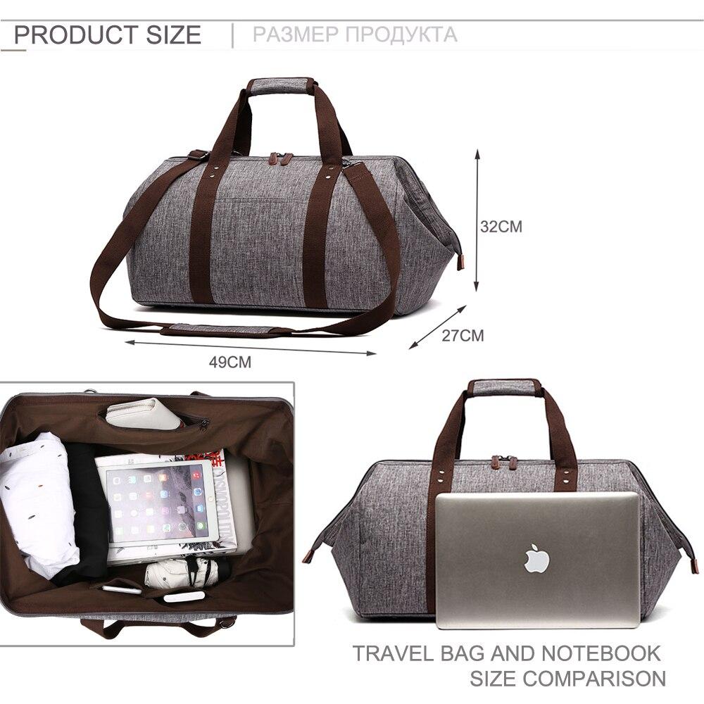 MARKROYAL Vattentät resväska Stor kapacitet Bär på väska Väska - Väskor för bagage och resor - Foto 4