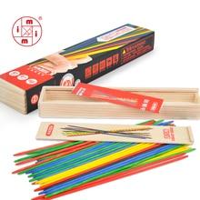 MITOYS Mikado 41 шт. Красочные Детские Обучающие деревянные Традиционные палочки с коробкой игры Монтессори Деревянные Игрушки