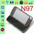 100% original de nokia n97 32 gb teléfono móvil 3g gps wifi 5mp bluetooth desbloqueado smartpone y un año de garantía