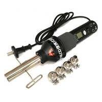 Pistola de aire caliente portátil, estación de soldadura electrónica ajustable, 8018LCD, 220V, 450W, 450 grados, LCD, BGA refundido