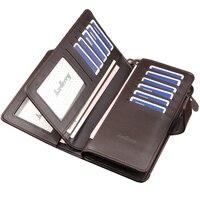 Baellerry Wallet Luxury Men Wallets Casual Male Clutch Brand Leather Women Wallet Purse Card Holder Multi