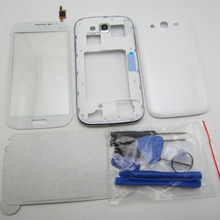 Complete Full Housing Case for Samsung Galaxy Grand Duos GT i9082 i9082 middle frame bezel Back