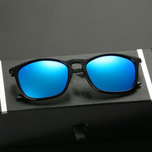 LUFF 2017 New Brand Design Polarized Sunglasses for Men and Women TR Frame Vintage Sunglasses Driving Travel SN2035