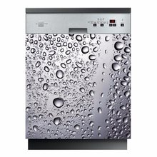Wholesale 3D Waterdrop SelfAdhesive Dishwasher Refrigerator Freeze Sticker Kids Art Fridge Door Cover Wallpaper