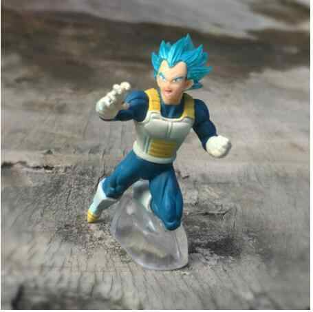 8 cm original Japonês anime figura Vegeta dragon ball Sun Wukon Tranks Zamas action figure collectible modelo brinquedos para meninos